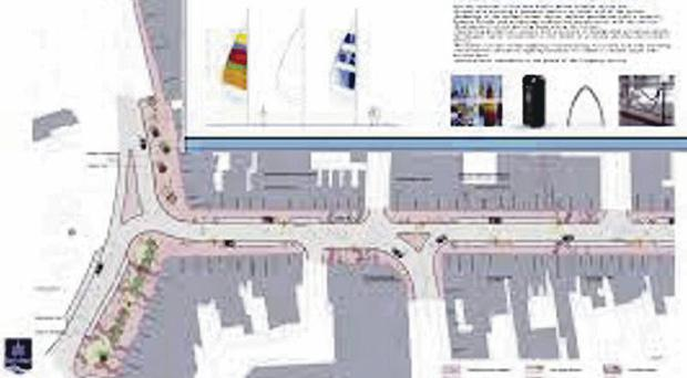 Bangor High Street is included in the Public Realm Works consultation