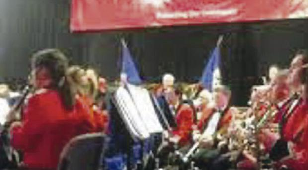 The NI Fire and Rescue Service Concert Band is going solo