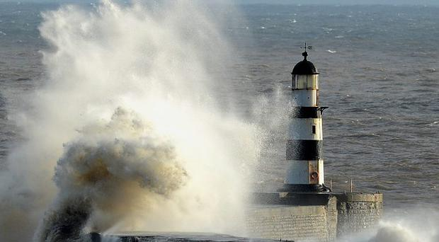Strong winds are predicted to hit many parts of the country over the weekend