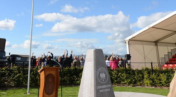A monument has been unveiled commemorating US servicemen buried in Northern Ireland during the Second World War (Castlereagh Borough Council/PA)