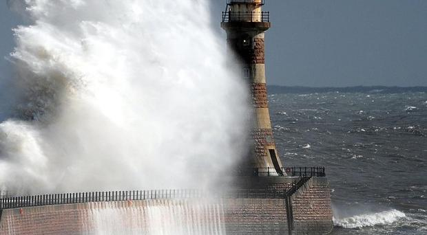 Western Scotland, North West England and Northern Ireland saw the worst of the wind and rain on Sunday