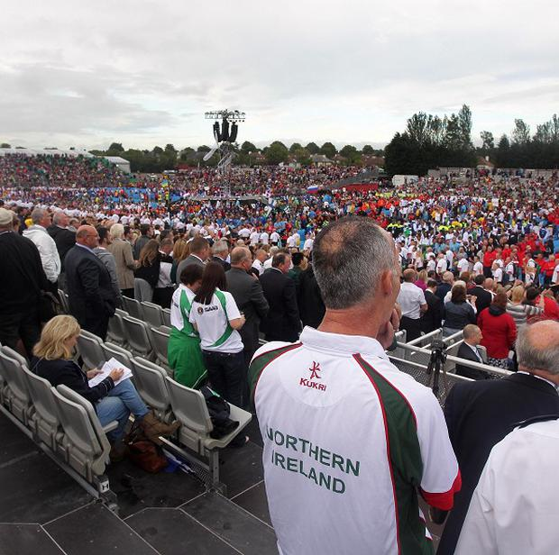 Retailers in Northern Ireland did not get a boost from the World Police and Fire Games, according to new figures.