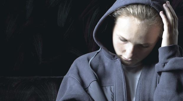 Police are discussing a large-scale child abuse inquiry (picture posed)