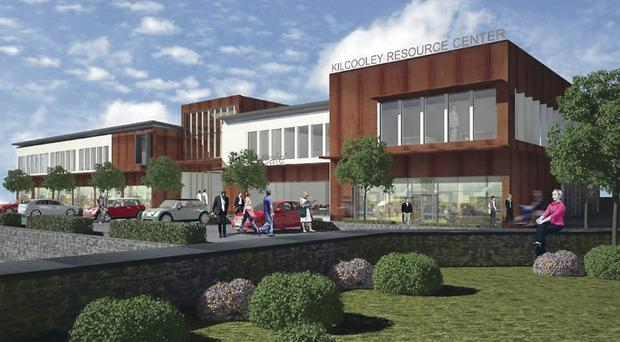 The proposed new enterprise centre for the Kilcooley Estate would include shops and offices as well as childcare and community facilities.