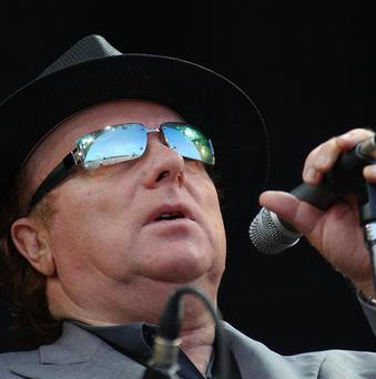 Van Morrison, who will play a free concert to celebrate his freedom of the city.