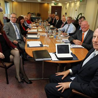 US diplomat Richard Haass has expressed confidence after holding talks to resolve contentious issues in Northern Ireland.