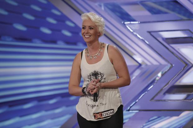 Andrea Magee on The X Factor