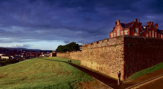 The walls of Derry have been boosted by National Lottery cash