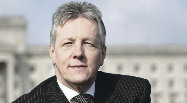 DUP leader Peter Robinson had initially backed an £18m development plan