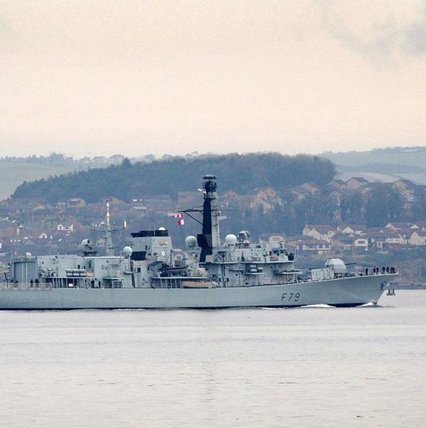 HMS Portland, a Type 23 frigate, will dock at Belfast Harbour for five days