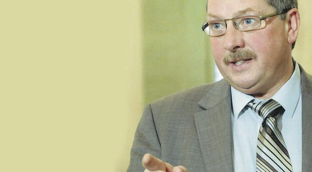 DUP's Sammy Wilson has hit back at republicans