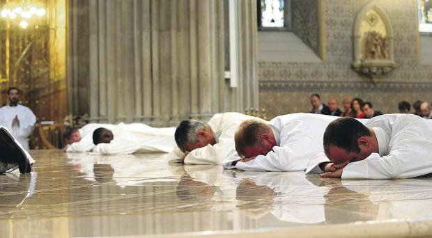 Armagh ordained lay Catholic deacons for the first time