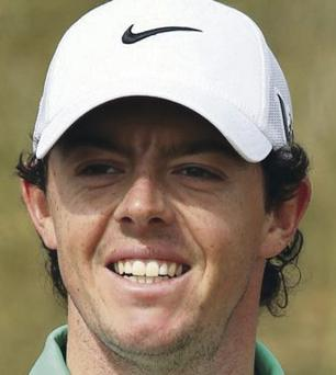 Golfer Rory McIlroy from Northern Ireland