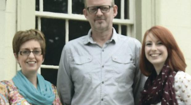 North Down Craft Collective Founders Debbie McCann, William Glendinning and Jennifer Brennan