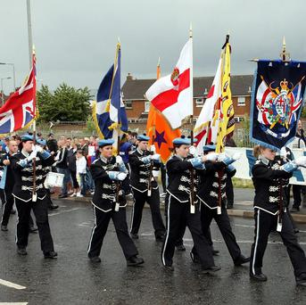 The report found young members of loyalist bands felt they were being demonised