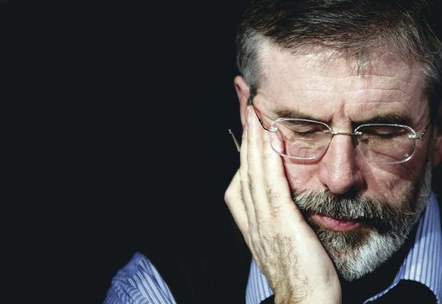 Gerry Adams has been criticised for withholding Liam Adams' confession of abuse from police for nine years