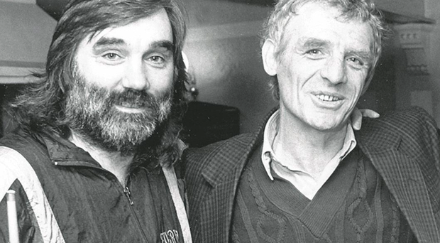 George Best with Eamon Dunphy