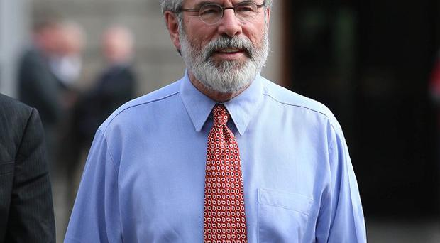 Sinn Fein president Gerry Adams has said that with hindsight he could have handled the sexual abuse of his niece Aine by his brother Liam differently