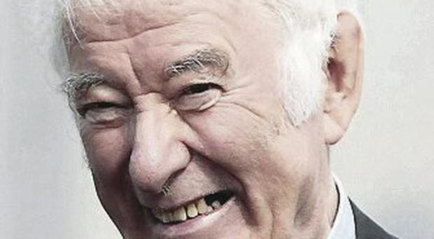 Seamus Heaney died in hospital in Dublin in August this year at 74