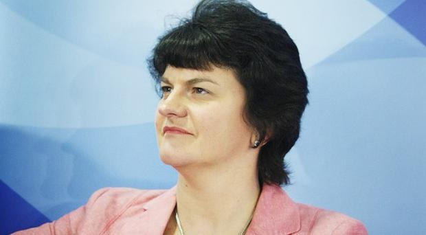 Arlene Foster said the jobs would contribute £1 million a year to the economy