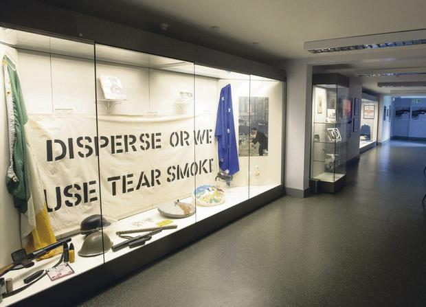 Inside the Free Derry Museum, which is waiting on funding approval for a new £2m building