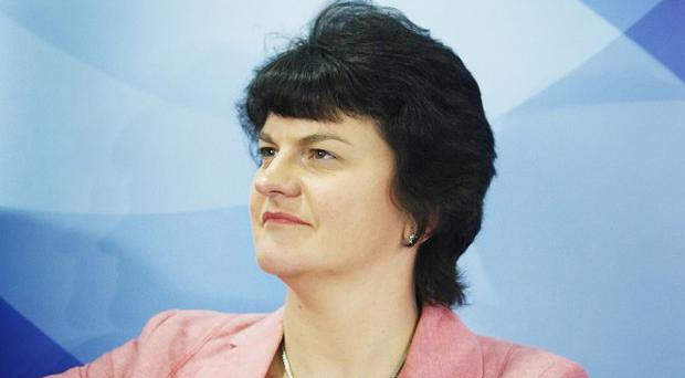 Arlene Foster said there is 'the potential that this investment will create further skilled jobs in the Terex manufacturing supply chain'
