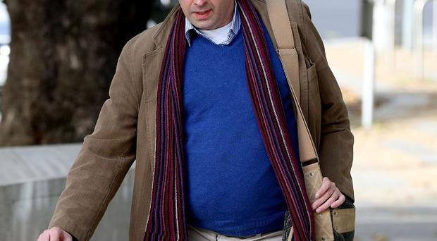 Barrister Michael Waters was given a suspended three-year jail sentence for headbutting a creche manager