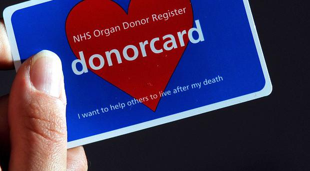 Just one-in-three people in Northern Ireland have signed up to become organ donors