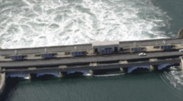 The La Rance barrage in Brittany has been generating power since 1966