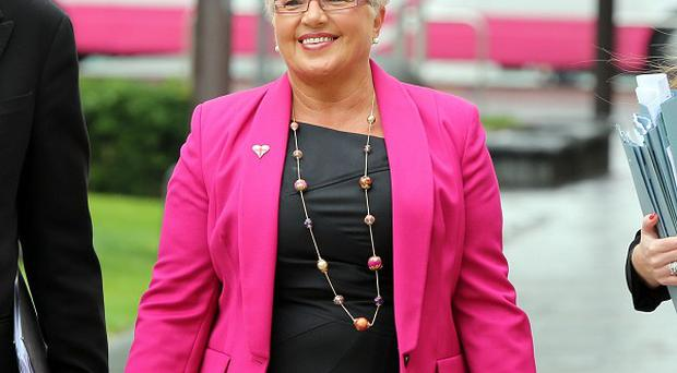 Democratic Unionist councillor Ruth Patterson is being prosecuted over a comment she posted on Facebook