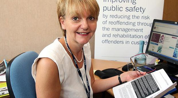 Sue McAllister said new measures have been put in place to deal with the abuse of drugs by inmates