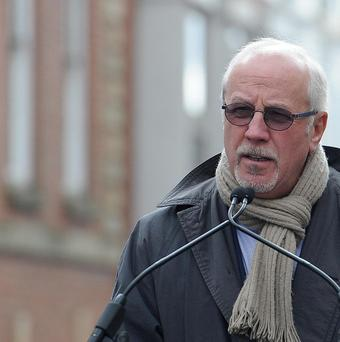 Colin Parry, father of IRA victim Tim Parry