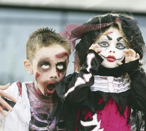 Adam Webb and Hannah Willis at last year's annual Monster Mash (Belfast City Council)