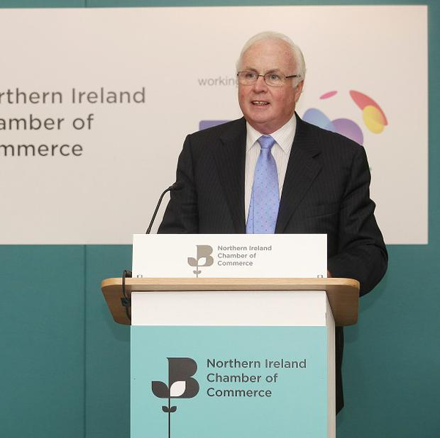 Nama chairman Frank Daly said assets would only be sold if and when the price was right (Northern Ireland Chamber of Commerce/PA)