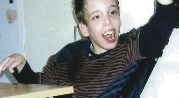 Conor Mitchell (15) died at Royal Victoria Hospital in 2003