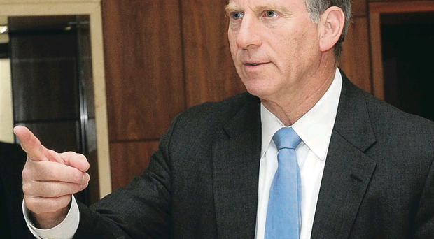 Disappointed: Dr Richard Haass wants all parties to implement his proposals for dealing with flags, parades and the past
