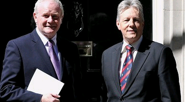 Peter Robinson and Martin McGuinness, the First and Deputy First Ministers, invited Richard Haass to help them get over a difficulty in the peace and political processes.