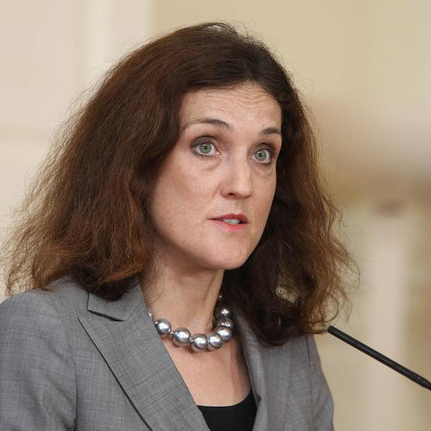 Theresa Villiers says she is concerned at the environment of fear the letter bomb incidents have created