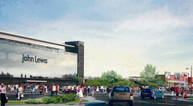 What the proposed John Lewis store at Sprucefield might look like if planners give it green light