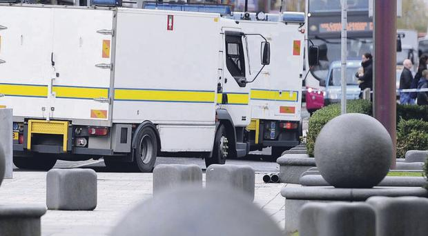 The latest in a string of security scares saw the Royal Courts of Justice in south Belfast evacuated on Wednesday