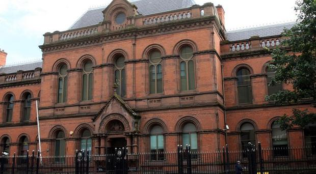 The inquest into the death of motorbiker Lee Vernon was held at Belfast Coroner's Court