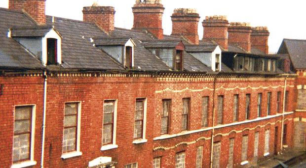 Belfastu0027s Working Class Population Typically Lived In Red Brick Terraced  Houses Similar To These In Pakenham