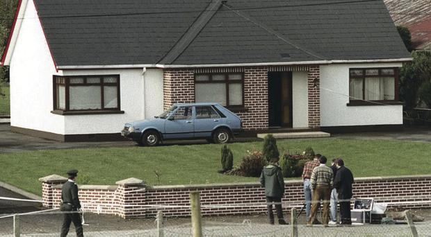 Hidden camera overlooking Roseann Mallon's home sent footage to soldiers in the woods, the court was told
