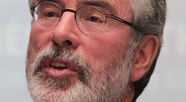 Sinn Fein Leader Gerry Adams insists he had nothing to do with the death of Jean McConville.
