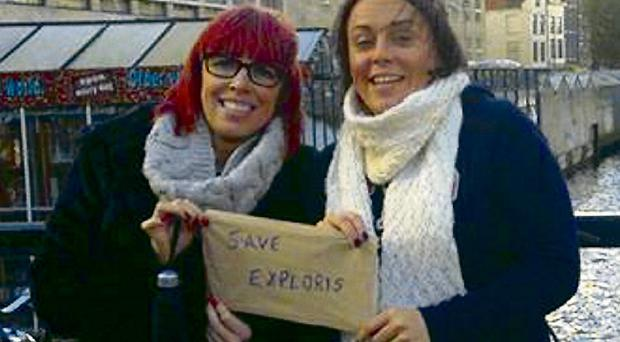 The campaign to save Exploris has won support all over the globe, including Amsterdam