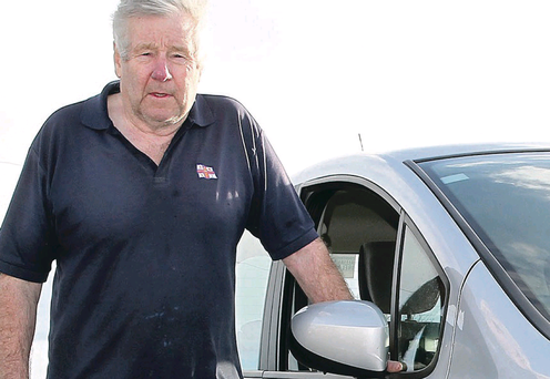 Roy Magowan, from Ballywalter, suffered gearbox problems with his nearly-new Renault