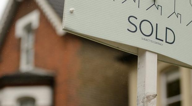The research found that almost half of surveyors questioned about sales in October reported that house prices had gone up