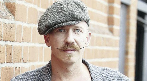 Musican Foy Vance pictured in Belfast City Centre