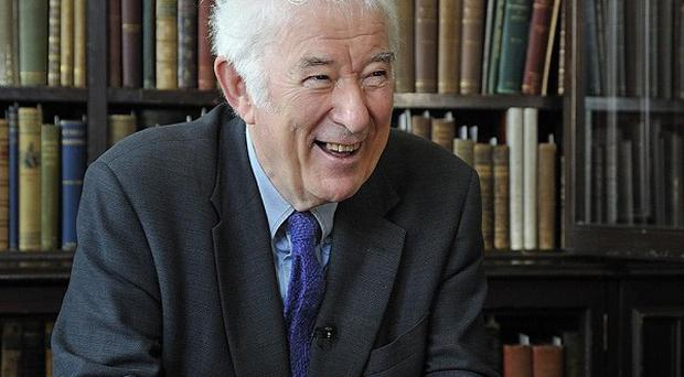 Handwritten drafts by late poet Seamus Heaney have gone on public display at Queen's University in Belfast