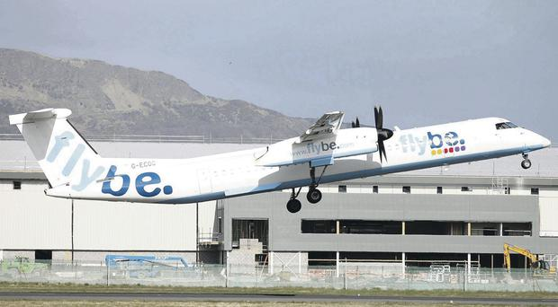 Flybe said it was business as usual and wouldn't be drawn on whether any of its routes will be cut